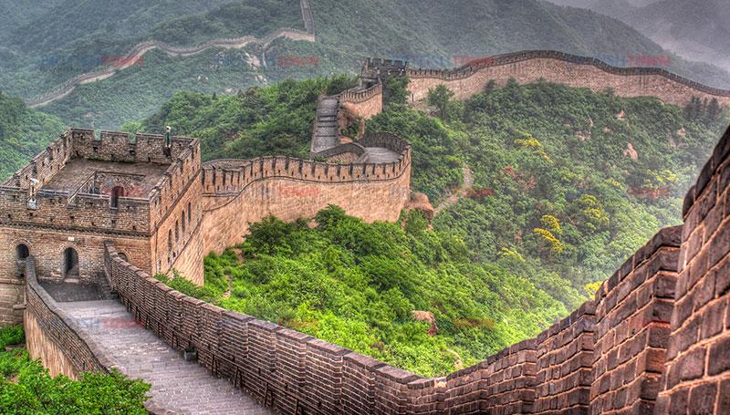 Çin, Çin Seddi ve Çince