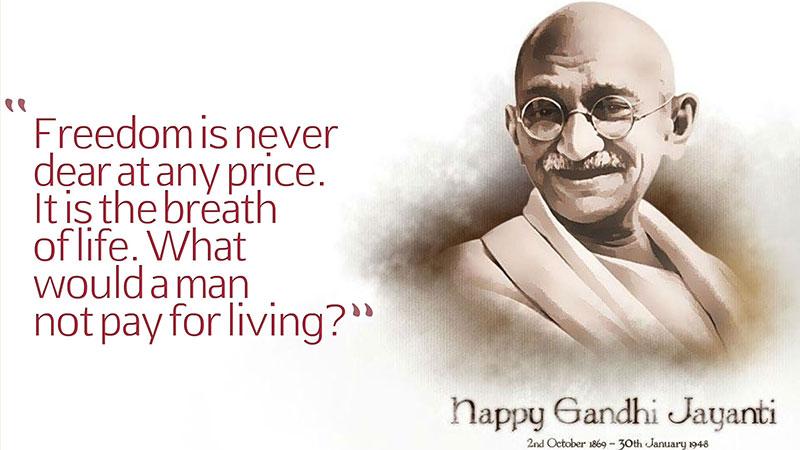 Hindistan, Hintçe ve Gandhi