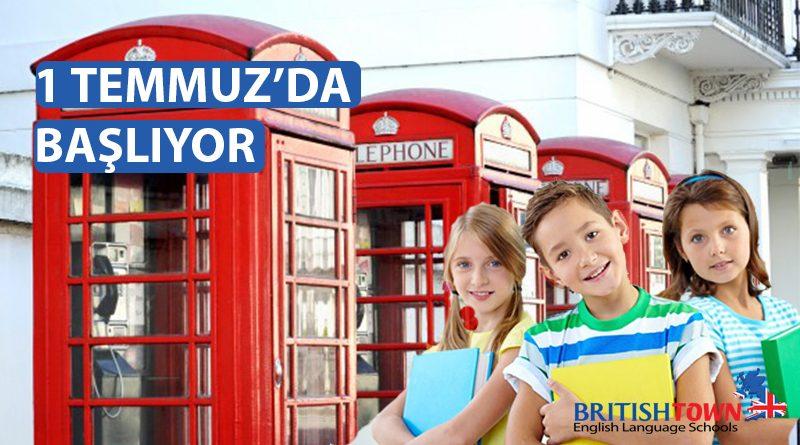 Çocuklar İçin İngilizce Yaz Okulu