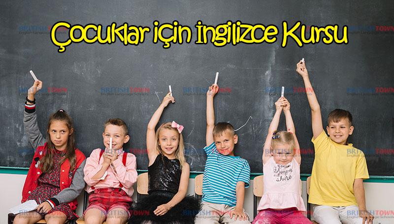 Çocuklar İçin İngilizce Kursu 6 Ekim'de Başlıyor!